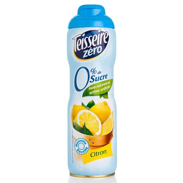 teisseire zero sirop citron avec stevia biscuit 600 ml ebay. Black Bedroom Furniture Sets. Home Design Ideas